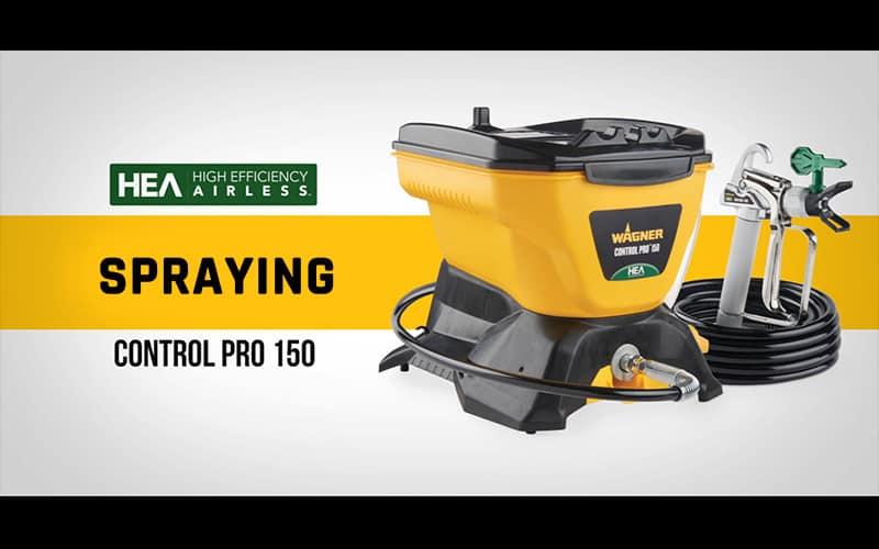 Control Pro 150 - Spraying