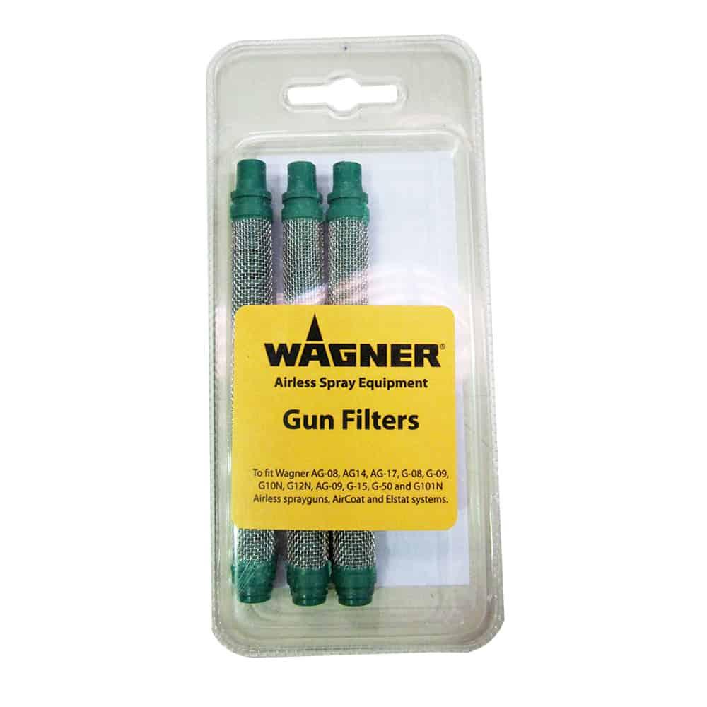 Pack of 3 Green Filters - Coarse (for filler paints, hi build) 0.56mm