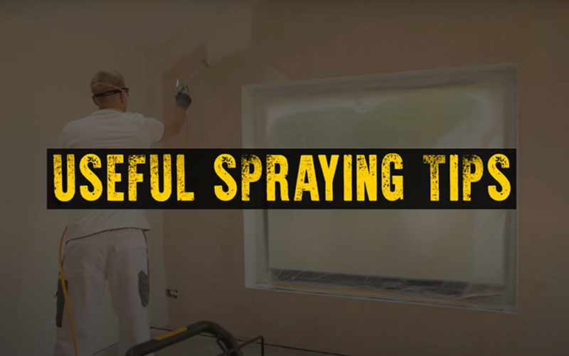 Airless Spraying Tips & Tricks